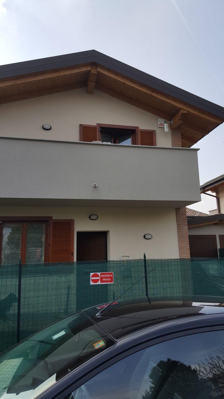 Allarme casa impianto di sicurezza b6 falcoalarm - Impianto di allarme casa ...