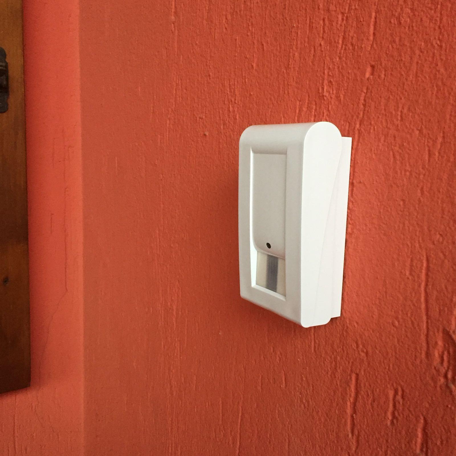 Allarme casa impianto di sicurezza sensore perimetrale falcoalarm - Impianto allarme casa prezzi ...