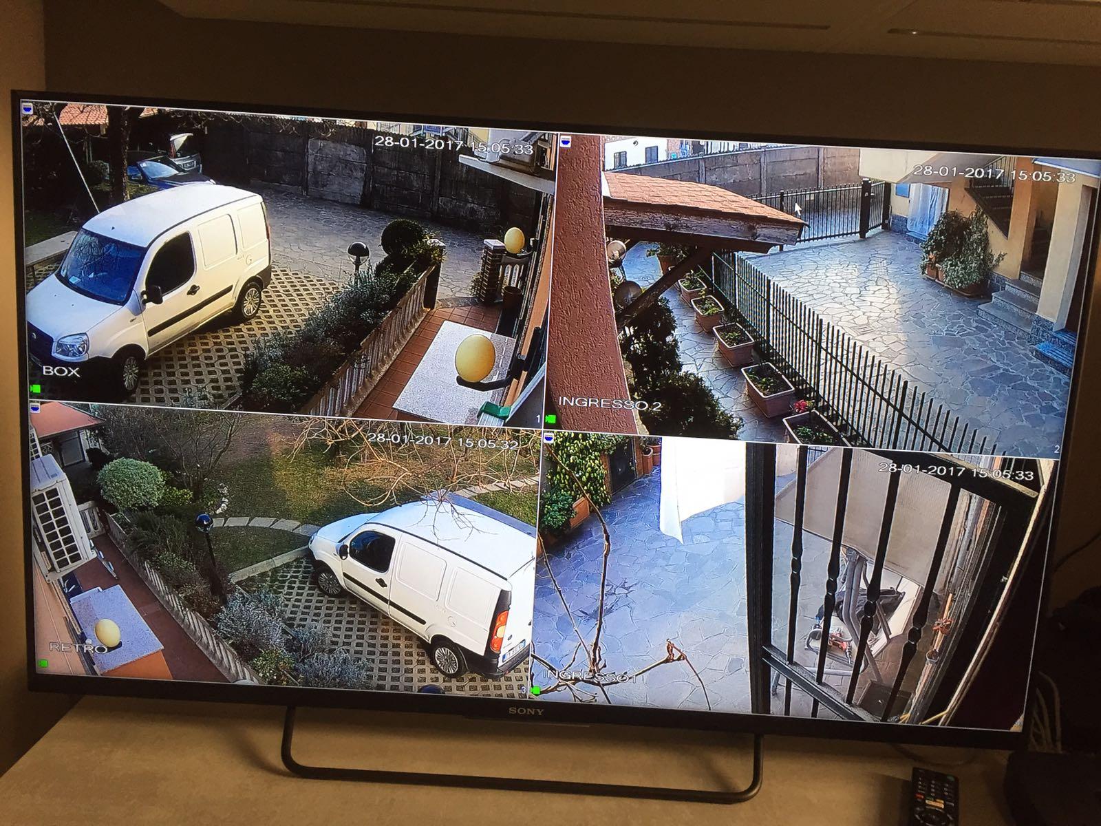 Allarme casa impianto di sicurezza dt3 falcoalarm - Impianto di allarme casa ...