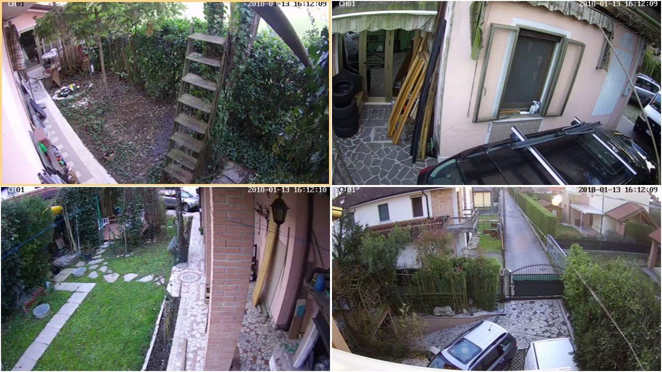 Allarme casa impianto di sicurezza g1 falcoalarm - Impianto di allarme casa ...